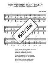 Téléchargez l'arrangement de la partition de Traditionnel-Der-within-Tochterlein en PDF à deux voix