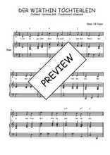 Téléchargez la partition de Der within Töchterlein en PDF pour Chant et piano