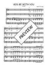 Téléchargez la partition de God be with you en PDF pour 2 voix égales et piano