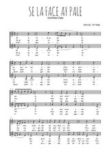 Téléchargez l'arrangement de la partition de guillaume-dufay-se-la-face-ay-pale en PDF à deux voix