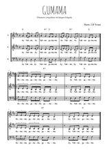 Téléchargez l'arrangement de la partition de Traditionnel-Gumama en PDF à trois voix