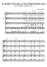 Téléchargez la partition de I heard the bells on Christmas day en PDF pour 3 voix SSA et piano