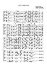 La partition gratuite de Iesous Aha tonnia Huron