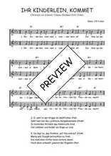 Téléchargez l'arrangement de la partition de Christoph-von-Schmid-Johann-Abraham-Peter-Schulz-Ihr-Kinderlein-kommet en PDF à deux voix