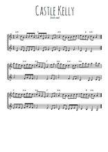 Téléchargez l'arrangement de la partition de irish-castle-kelly en PDF à deux voix