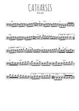 Téléchargez la partition de irish-catharsis en clef de fa