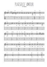 Téléchargez la tablature de la musique j-p-martini-plaisir-d-amour en PDF