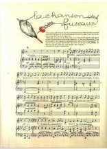 La chanson des fuseaux Partition gratuite