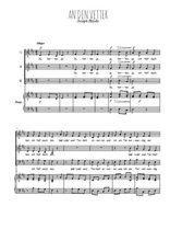 Téléchargez la partition de An den Vetter en PDF pour 3 voix SAB et piano