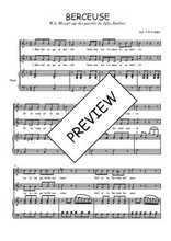 Téléchargez la partition de Berceuse en PDF pour 2 voix égales et piano
