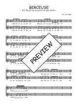 Téléchargez l'arrangement de la partition de W.A.-Mozart-Berceuse en PDF à deux voix