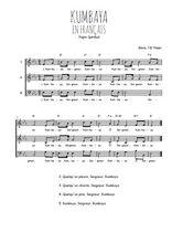 La partition gratuite de Kumbaya en français