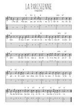 Téléchargez la tablature de la musique revolution-la-parisienne en PDF