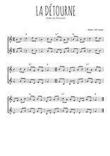 Téléchargez l'arrangement de la partition de polka-du-nivernais-la-detourne en PDF à deux voix