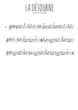 Téléchargez la partition pour saxophone en Mib de la musique polka-du-nivernais-la-detourne en PDF