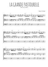 Téléchargez l'arrangement de la partition de bourree-du-berry-la-grande-pastourelle en PDF à trois voix