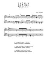 Téléchargez l'arrangement de la partition de Traditionnel-La-rama en PDF à deux voix