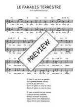 Téléchargez l'arrangement de la partition de Traditionnel-Le-paradis-terrestre en PDF à deux voix