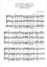 Téléchargez l'arrangement de la partition de noel-les-rois-mages en PDF à trois voix