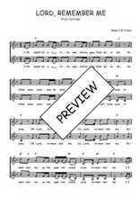 Téléchargez l'arrangement de la partition de Traditionnel-Lord-remember-me en PDF à deux voix