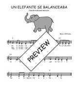 Téléchargez l'arrangement de la partition de Traditionnel-Un-elefante-se-balanceaba en PDF à deux voix