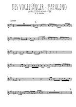 Téléchargez la partition en Sib de la musique mozart-la-flute-enchantee-des-vogelfanger en PDF