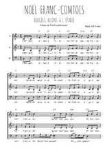 Téléchargez l'arrangement de la partition de Traditionnel-Noel-franc-comtois en PDF à trois voix