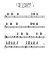 Téléchargez la partition en Sib de la musique noel-polonais en PDF