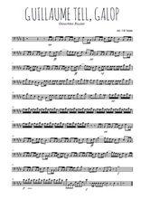 Téléchargez la partition de rossini-guillaume-tell-ouverture-galop en clef de fa