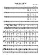 Téléchargez la partition de Peuple fidèle en PDF pour 4 voix SATB et piano