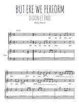 Téléchargez la partition de But ere we this perform en PDF pour 2 voix égales et piano