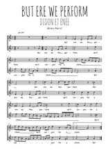 Téléchargez l'arrangement de la partition de Henry-Purcell-But-ere-we-this-perform en PDF à deux voix