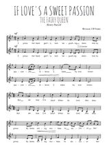 Téléchargez l'arrangement de la partition de Henry-Purcell-If-love-s-a-sweet-passion en PDF à deux voix