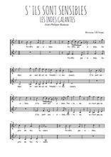 Téléchargez l'arrangement de la partition de Jean-Philippe-Rameau-La-danse-des-Sauvages en PDF à deux voix