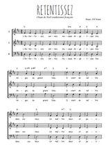 Téléchargez l'arrangement de la partition de Traditionnel-Retentissez en PDF à trois voix