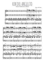 Téléchargez la partition de Rin del angelito en PDF pour 2 voix égales et piano