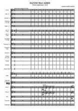 Danse macabre pour orchestre Partition gratuite