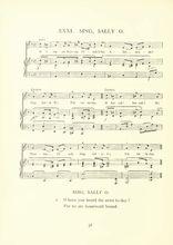 Sing Sally o Partition gratuite