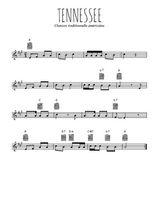 Téléchargez la partition en Sib de la musique usa-tennessee en PDF