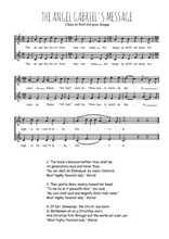 Téléchargez l'arrangement de la partition de Traditionnel-Gabriel-s-message en PDF à deux voix