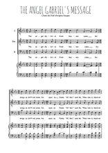 Téléchargez la partition de Gabriel's message en PDF pour 3 voix TTB et piano