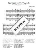 Téléchargez l'arrangement de la partition de Traditionnel-The-cherry-tree-carol en PDF à trois voix