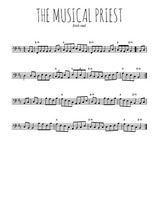 Téléchargez la partition de irlande-the-musical-priest en clef de fa