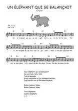 Traditionnel - Un éléphant qui se balançait (2)