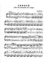 Une petite musique de nuit pour piano (2) Partition gratuite