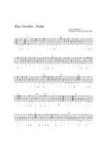 Le beau Danube bleu, Tablature de guitare Partition gratuite