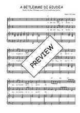 Téléchargez la partition de A Betlemme di Giudea en PDF pour 2 voix égales et piano