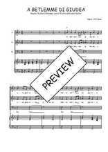 Téléchargez la partition de A Betlemme di Giudea en PDF pour 3 voix SAB et piano