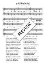 Téléchargez l'arrangement de la partition de Traditionnel-A-Bordeaux en PDF à deux voix