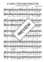 Téléchargez l'arrangement de la partition de Traditionnel-A-carol-for-Christmas-eve en PDF à deux voix
